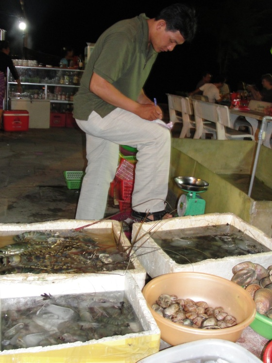 seafood in Mui Ne